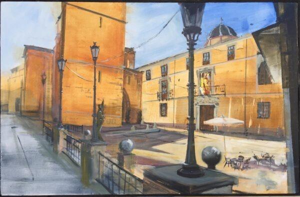concurso pintura rápida Orihuela 2021