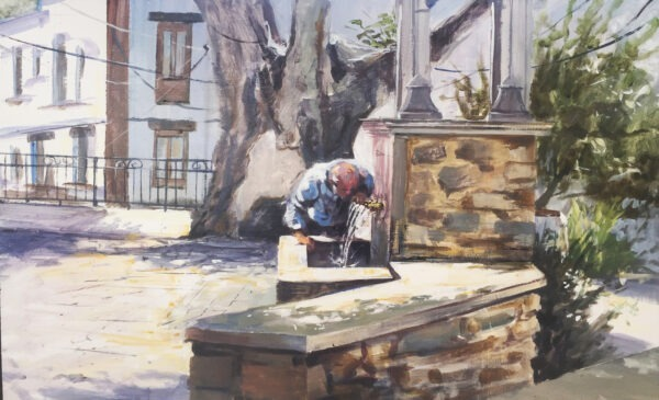 Concurso de pintura rápida de Guejar Sierra 2021