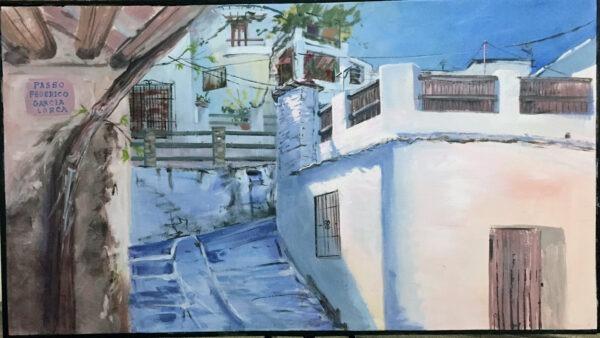 Concurso de pintura rápida de Pampaneira 2021