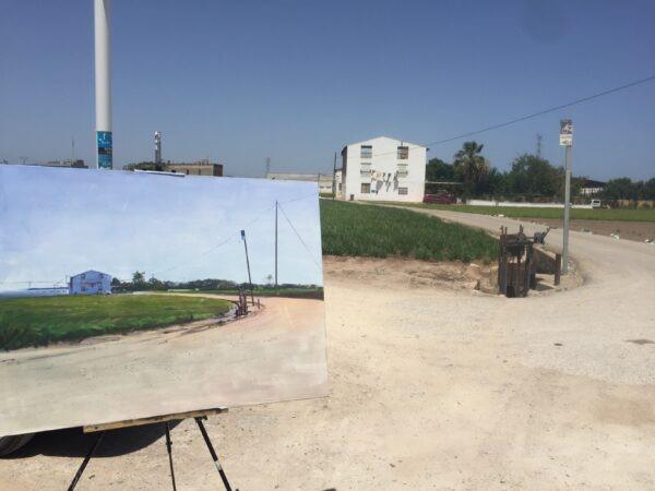 pintura rápida Alboraya 2021 Paco Rojas